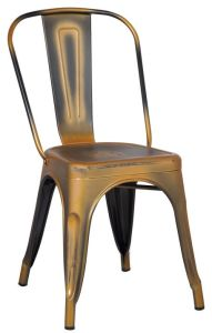 Industrial Distress Metal Chair, Vintage Metal Dining Chair pictures & photos