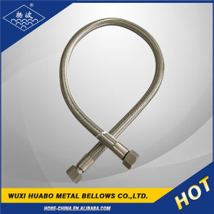 Yangbo Braiding Corrugated Bellows Hose with Thread End pictures & photos