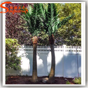 Guangzhou Supply Fiberglass Fake Artificial Coconut Palm Tree pictures & photos