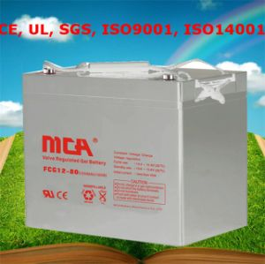Good Quality Solar Battery Bank Solar Street Light Battery 80ah pictures & photos