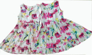 Fashion Flower Kids Girl Dress in Children Apparel for Summer (SQD-110) pictures & photos