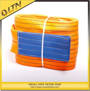 10t Heavy Duty Polyester Lifting Webbing Sling pictures & photos