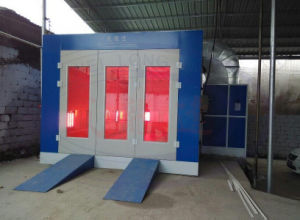 Spray Paint Booth Wld6100 with Infrared Lamp Heating System pictures & photos
