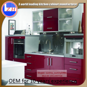 Modern DIY MDF Kitchen Cabinet (customized) pictures & photos