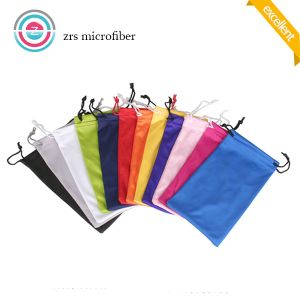 High Quality Microfiber Sunglass Soft Drawstring Pouch pictures & photos