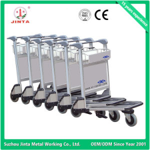In Stock Aluminum Alloy Airport Trolley (JT-SA02) pictures & photos