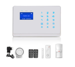 New! ! ! Factory Mobile GSM Alarm System with Touch Keypad pictures & photos