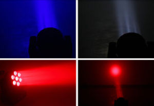 7*12W Moving Head Beam LED DJ Light pictures & photos