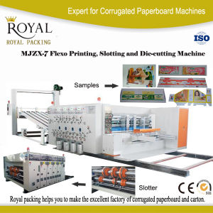 High Speed Flexo Printing, Slotting and Die-Cutting Machine, Printer pictures & photos
