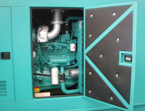 50Hz Noiseless Cummins Engine Diesel Generator 300kVA 240kw pictures & photos