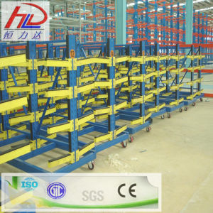 Warehouse Steel Storage Rack with Cantilever Arm pictures & photos