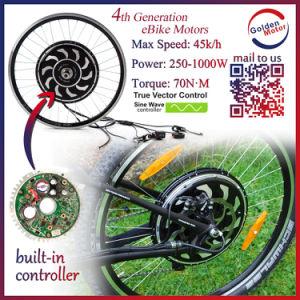 250W 500W 1000W Golden Motor Magic Pie4 5 E-Bike Hub Motor/ Electric Bicycle Motor Kit pictures & photos