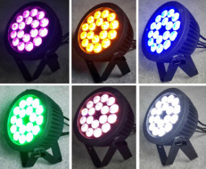 Outdoor 18X18W Rgbwauv Big Power LED PAR Light for Wash pictures & photos