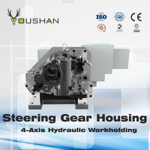 Steering Gear Housing 4-Axis Hydraulic Fixture