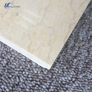 Customized Natural Gold Beige Marble Flooring pictures & photos