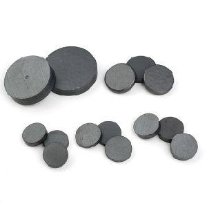Custom Size Disc Black Ceramic Magnet pictures & photos