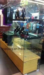 Garment Dislpay Shelf Glass pictures & photos