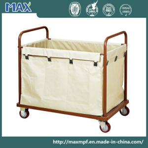 Hotel Cleaning Service Laundry Linen Maid Trolley Cart pictures & photos