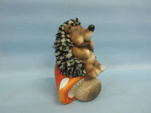 Mushroom Hedgehog Shape Ceramic Crafts (LOE2538-C13) pictures & photos