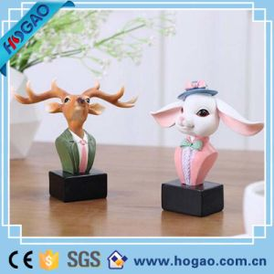 Creative Resin Rabbit Eye Glass Holder for Life Usage pictures & photos