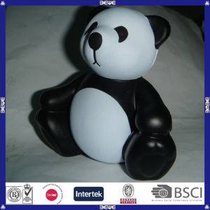 Kid Like Soft Logo Printed PU Panda Stress Ball pictures & photos
