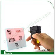 Mini Cordless1d Finger Ring Model Barcode Scanner pictures & photos