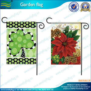 China Gardern Flag Pole Decorate Garden Flag with Metal Poles M