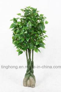 New Design Artificial Plants with 324 Scindapsus Aureus Leaves
