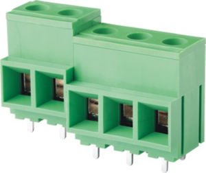 PCB Screw/Rising Clamp Terminal Block with Large Rated Current (WJ116V) pictures & photos