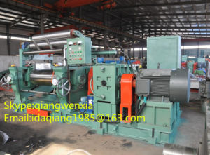 Two Rolls Rubber Mixing Mill, Open Mixing Machine, Rubber Mixing Machine Xk-450 pictures & photos