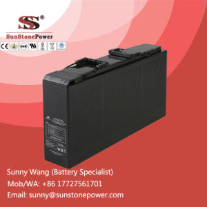 Deep Cycle Front Terminal AGM Solar Battery 12V 150ah pictures & photos