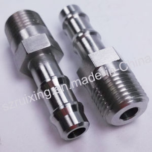 Custom Made CNC Machining Service for Stainless Steel Barb Fitting pictures & photos
