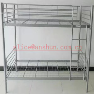Jas-086 Factory Sale Modern Shool Furniture Steel Metal Bunk Dormitory Bed pictures & photos