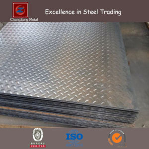 Hot Rolled Mild Steel Checkered Plate (CZ-S65) pictures & photos