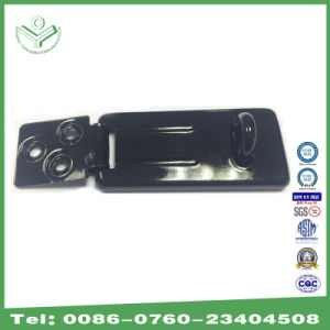 66mm Long Shiny Painting Hardened Steel Hasp with Hardened Steel Locking Eye (HS202) pictures & photos
