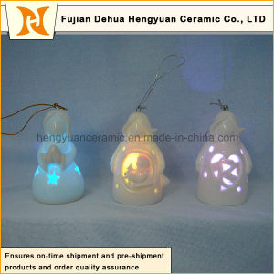 Christmas Tree Pendant Lamp, Ceramic Santa Claus Pendants for The Christmas Tree pictures & photos