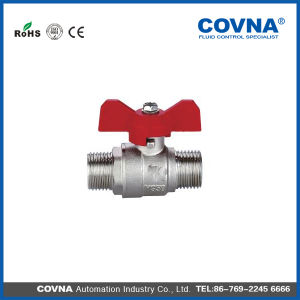 "1/2"" Covna Forged Brass Ball Valve with T Handle pictures & photos"
