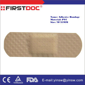78X25mm PVC Skin Medical Adhesive Plaster pictures & photos