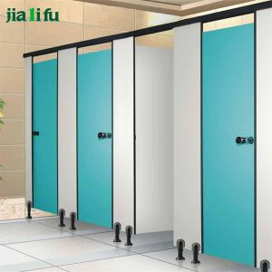 Jialifu Water-Resistant HPL Toilet Partition Cubicle pictures & photos