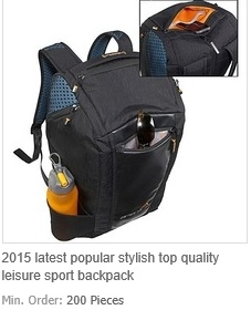 Latest Popular Stylish Top Quality Leisure Sport Backpack