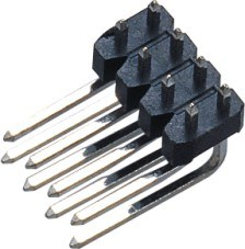 2.54 mm Double Row Double Row Needles Pin Header pictures & photos