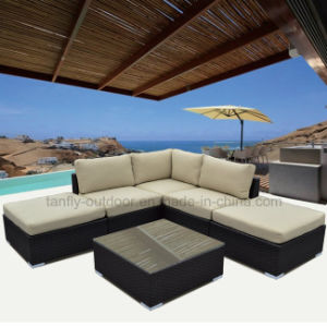 Stylish and Innovative 5 Seater Cube Sofa Set Rattan Furniture pictures & photos