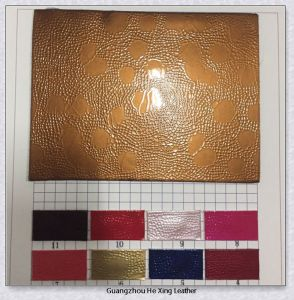 New Design Embossed PVC Leather for Bag, Purse (9573) pictures & photos