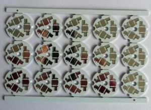 Single Sided Round Aluminum PCB for LED Lighting pictures & photos