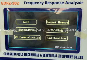 Gdrz-902 Automatic Transformer Frequency Response Analyzer pictures & photos