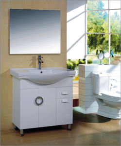 Modern Design Home Furniture PVC Storage Bathroom Cabinet pictures & photos