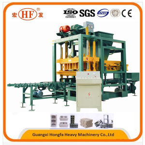 Cement Solid Block Wall Machine for Construction Equipment (Qtj4-25c) pictures & photos