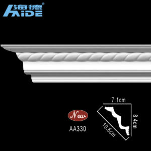Top Rank Polyurethane Cornices PU Crown Moulding (AA330) pictures & photos