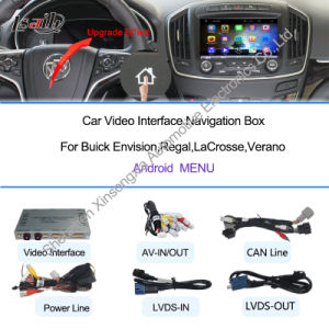 GPS Navigation System on Android for Buick Regal with 3G Functions pictures & photos