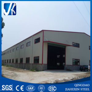 Steel Frame Warehouse/Workshop (steel beam, Corrugated steel sheet, Sandwich panel) pictures & photos